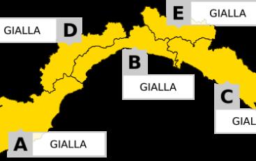 Maltempo in tutta la Liguria. Allerta gialla dalle 18 del 27 ottobre alle 10 del 28