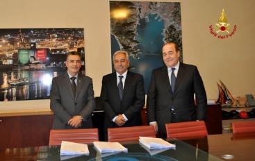 Nuova sede dei Vigili del Fuoco: ok alla convenzione con il Porto