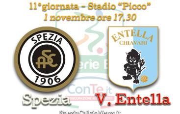 Spezia-Entella: più forti delle assenze, contro un avversario ostico ed organizzato