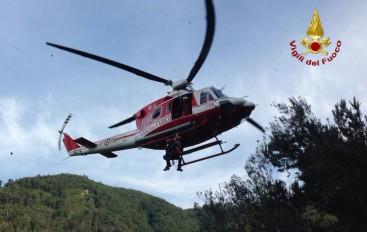 Incidente col trattore: agricoltore di 75 anni in elicottero al San Martino