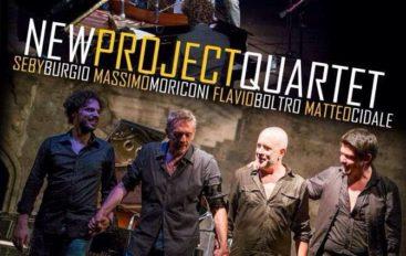 New Project Quartet, jazz al centro Allende.