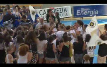 Basket, Carispezia ritorna in A1