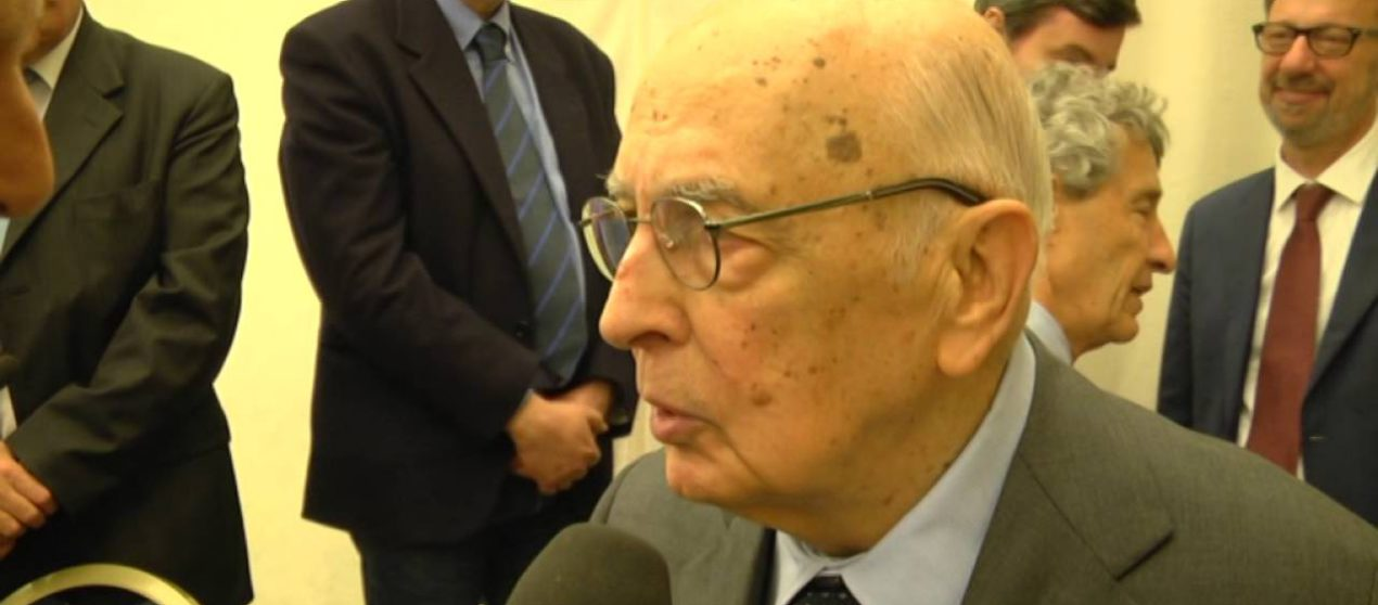 Premio Exodus 2016 al presidente Giorgio Napolitano