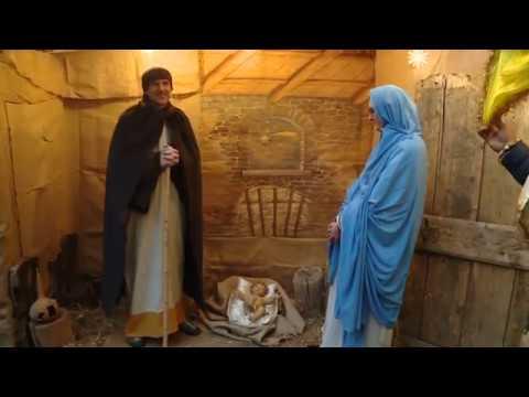 Presepe vivente della pia casa di misericordia tele for Casa colonica vivente del sud