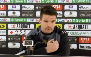 Spezia calcio, Errasti parla di Salernitana-Spezia