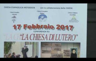 Centenario di Lutero, una conferenza per ricordarlo