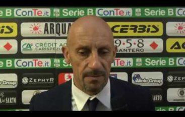 Spezia-Ternana 2-0, i due mister