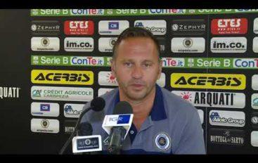 Spezia Calcio, il mister Gallo prima del ritiro