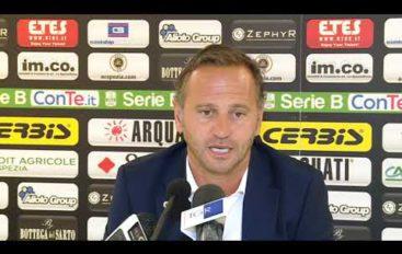 Spezia calcio, mister Gallo prima di Palermo-Spezia