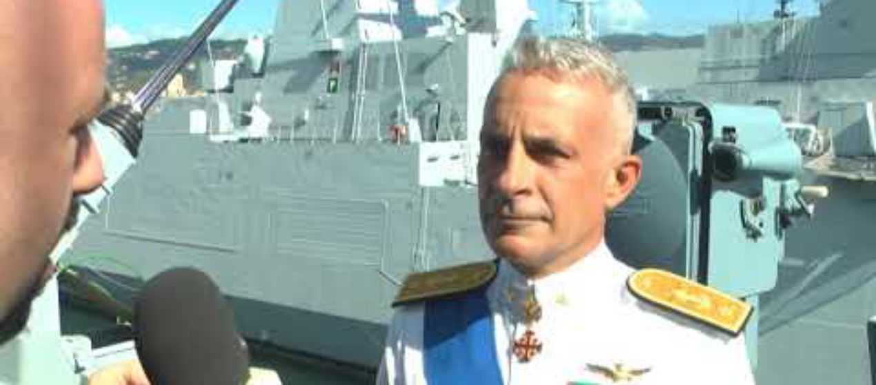 Insediato oggi il nuovo comandante della 1′ divisione navale