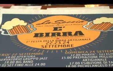 """""""E' Birra"""", festa ai giardini pubblici della Spezia"""