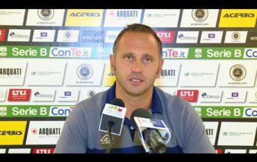 Spezia calcio, mister Gallo pre Novara