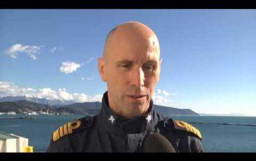 Nave Alliance salpa per l'Artico