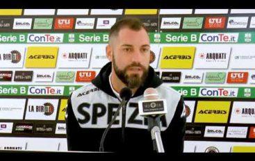 Spezia Calcio, il difensore Giani dopo Spezia-Palermo