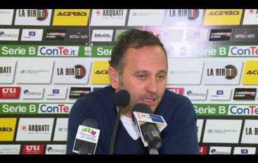 Spezia calcio, mister Gallo prima di Spezia-Palermo