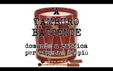 A Tamburo battente, ospite Baldino Caratozzolo