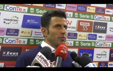Bari-Spezia 1-1, i due mister Gallo e Grosso