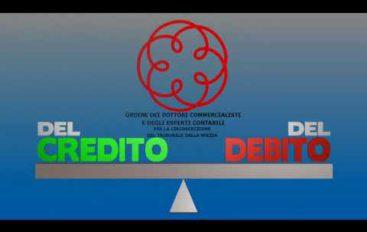 Del credito, del debito, trasmissione sui problemi dell'indebitamento