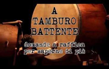 A tamburo battente, ospite Alessio Cavarra