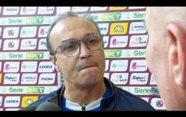 Spezia calcio, mister Marino dopo la vittoria a Livorno
