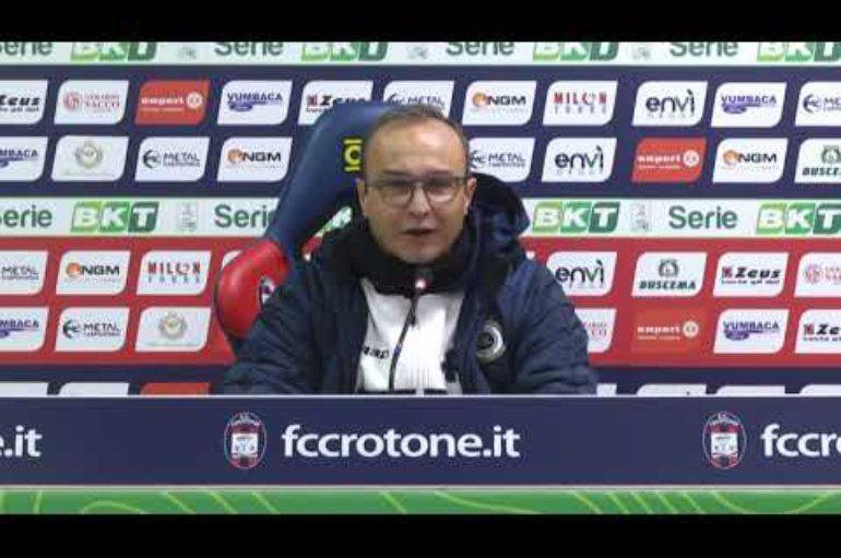 Crotone-Spezia 0-3, Mister Marino