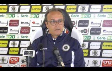 Spezia calcio, mister Marino prima di Spezia-Cittadella