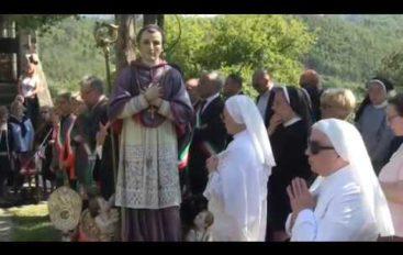 Sant'Antonio Gianelli, la festa a Cerreta di Carro