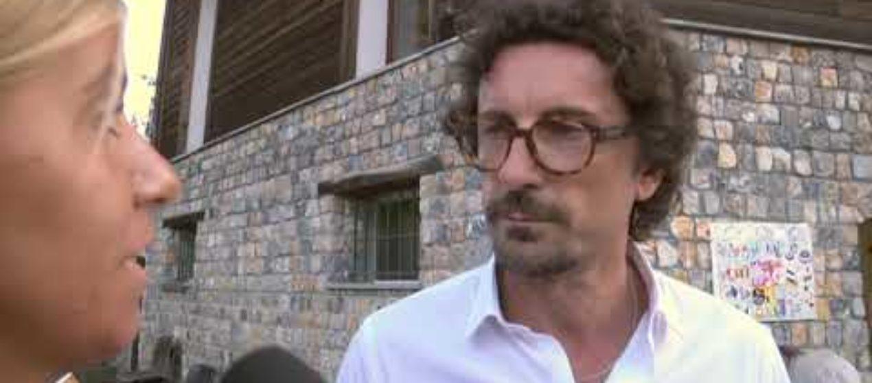 Il Ministro Toninelli alla festa 5stelle a Falconara