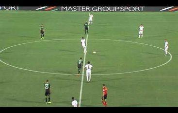 Sassuolo-Spezia 1-0 Coppa Italia