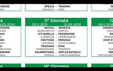 Serie B, pubblicato il calendario 2019-20