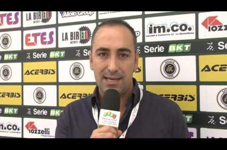 Spezia – Juve Stabia 2-0, il Mister Italiano