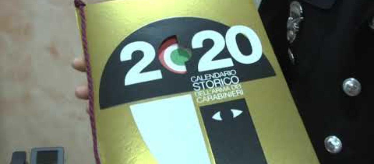 Calendario dei Carabinieri 2020
