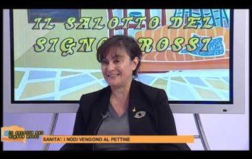 Sonia Viale al Salotto del Signor Rossi, tema la sanità spezzina