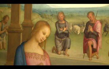 L'Adorazione dei pastori del Perugino in mostra al Museo Lia