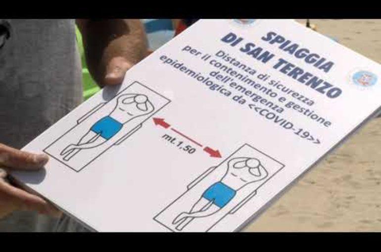 i balneatori di San Terenzo commentano i provvedimenti assunti dall'amministrazione lericina 22-05-2020