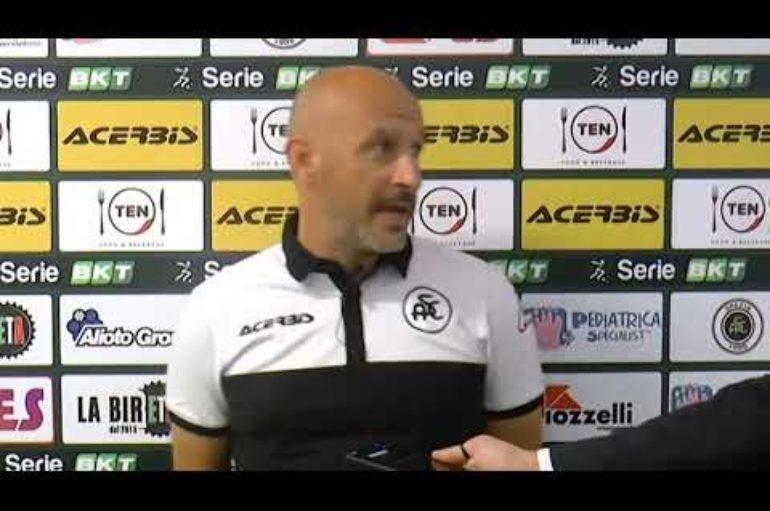 Spezia calcio, Mister Italiano su Salernitana-Spezia