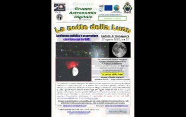 Astronomia, serata a Riomaggiore con il GAD