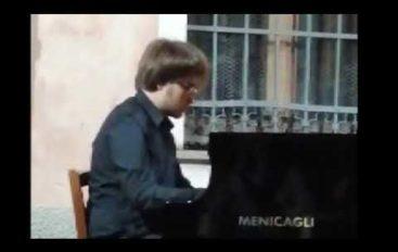Nicola Ricci al festival Paganiniano
