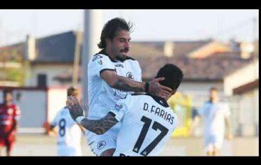 Cittadella-Spezia 0-2 in Coppa Italia, Italiano e Verde