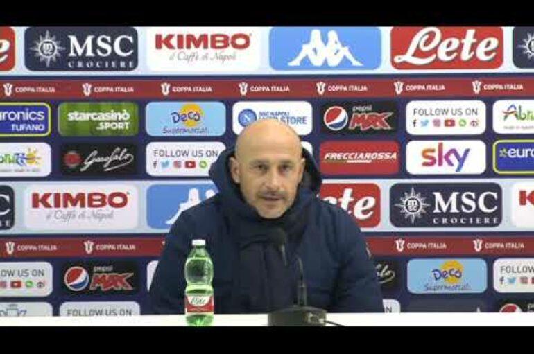 Italiano e Gattuso dopo Napoli-Spezia 4-2 di Coppa Italia