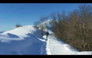Neve e turisti in Val di Vara