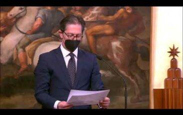 Il giuramento dei sottosegretari Pucciarelli e Costa