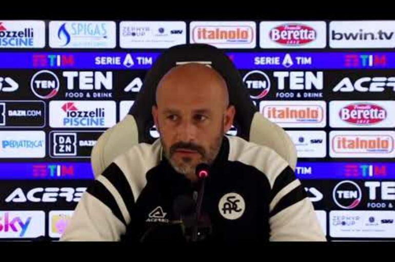 Spezia calcio, mister Italiano pre Verona